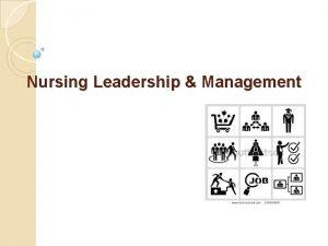 Nursing Leadership Management Theories and Styles of Leadership
