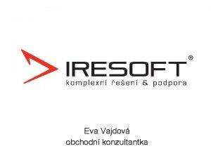 Eva Vajdov obchodn konzultantka O spolenosti Souhvzd Labut