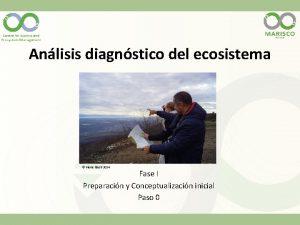 Anlisis diagnstico del ecosistema Pierre Ibisch 2014 Fase