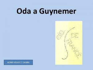 Oda a Guynemer ADRI VELASCO SAURA Josep Maria