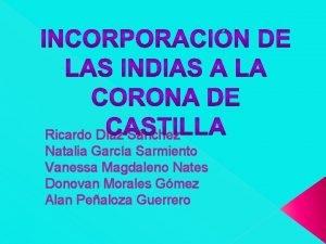 Ricardo Daz Snchez Natalia Garca Sarmiento Vanessa Magdaleno