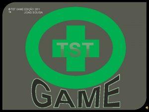 TST GAME EDIO 2011 JOAS SOUSA TST GAME