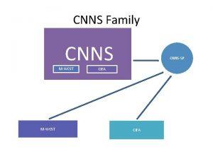 CNNS Family CNNS MWCST CNNSSP CIFA Sample Johns