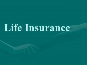 Life Insurance Introduction of life insurance in HK