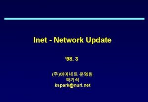 Inet Network Update 98 3 ksparknuri net History