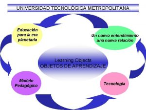 UNIVERSIDAD TECNOLGICA METROPOLITANA Educacin para la era planetaria
