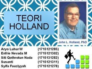 TEORI HOLLAND Aryo Luhur W Enfrie Nevada M