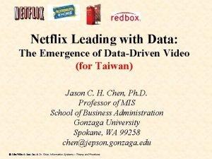 Netflix Leading with Data The Emergence of DataDriven