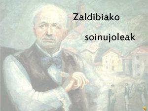 Zaldibiako soinujoleak Josefa Beloki Zubeldia Bedaion Tolosa jaio