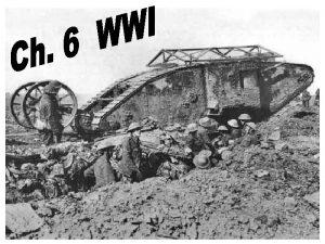 4 Causes of WWI Imperialism Militarism Nationalism Alliances