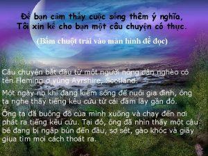 bn cm thy cuc sng thm ngha Ti