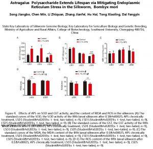 Astragalus Polysaccharide Extends Lifespan via Mitigating Endoplasmic Reticulum