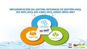 IMPLEMENTACIN DEL SISTEMA INTEGRADO DE GESTIN HSEQ ISO
