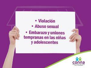 La niez y la adolescencia en El Salvador