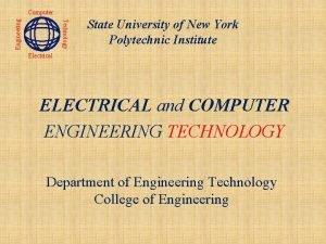 Technology Engineering Computer State University of New York