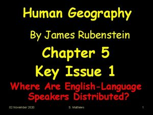 Human Geography By James Rubenstein Chapter 5 Key