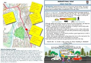 Meiklemill Primary School Travel Plan Introduction Meiklemill Primary