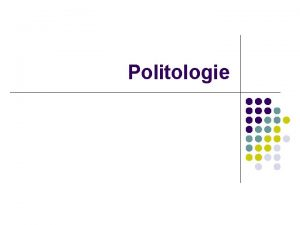Politologie Preliminarii Probleme autohtone l Perspectiv deformat asupra