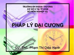 TRNG H NGOI THNG C S II TI