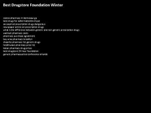 Best Drugstore Foundation Winter costco pharmacy in kennesaw