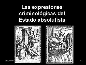 Las expresiones criminolgicas del Estado absolutista 05112020 1