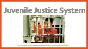 Juvenile Justice System http www nycrimecommission orgpdfsGuide To