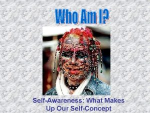 SelfAwareness What Makes Up Our SelfConcept SelfConcept Selfconcept