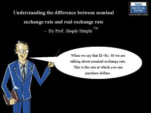 Understanding the difference between nominal exchange rate and