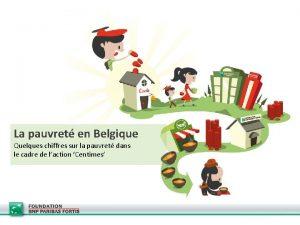 La pauvret en Belgique Quelques chiffres sur la