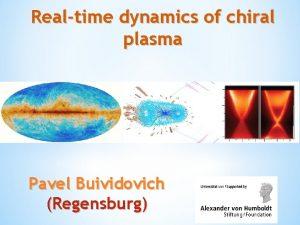 Realtime dynamics of chiral plasma Pavel Buividovich Regensburg