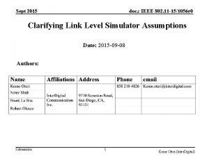 Sept 2015 doc IEEE 802 11 151056 r