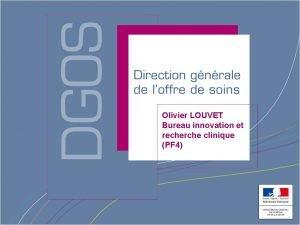Les MERRI ORGANISATION Missions dEnseignement MISSIONS Olivier LOUVET