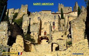 Saintmontan Prsent par Nicole Automatique le village de
