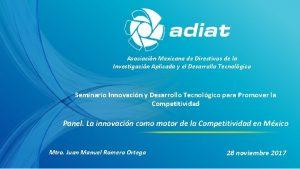 Asociacin Mexicana de Directivos de la Investigacin Aplicada
