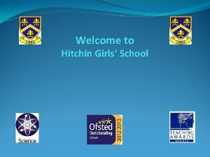 Welcome to Hitchin Girls School The Sixth Form