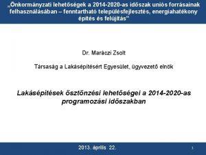 nkormnyzati lehetsgek a 2014 2020 as idszak unis