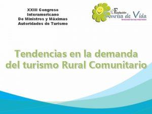 XXIII Congreso Interamericano De Ministros y Mximas Autoridades