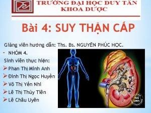 Bi 4 SUY THN CP Ging vin hng