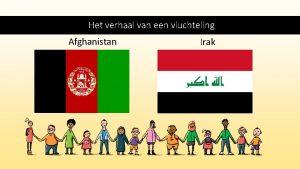 Het verhaal van een vluchteling Afghanistan Irak Inhoud