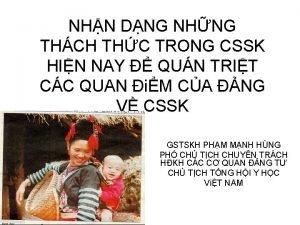 NHN DNG NHNG THCH THC TRONG CSSK HIN