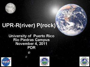 UPRRriver Prock University of Puerto Rico Ro Piedras