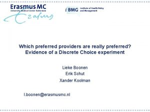 Which preferred providers are really preferred Evidence of