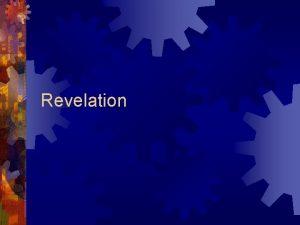 Revelation Background Extreme approaches to Revelation Hope Genre