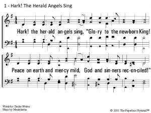 1 Hark The Herald Angels Sing 1 Hark