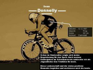 Sean Donnelly Geboren 13 12 1987 Gewicht 79