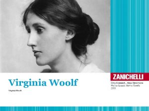 Virginia Woolf Virginia Woolf 1 Life 1882 1941
