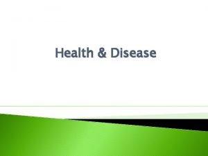 Health Disease Domain Bacteria Domain Archaea Kingdom Eubacteria