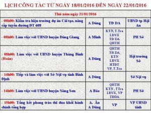 LCH CNG TC T NGY 18012016 N NGY