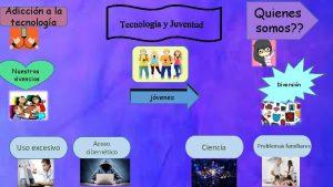 Adiccin a la tecnologa Quienes somos Nuestras vivencias
