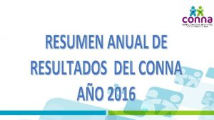 El Plan Operativo Anual POA 2016 considero 33